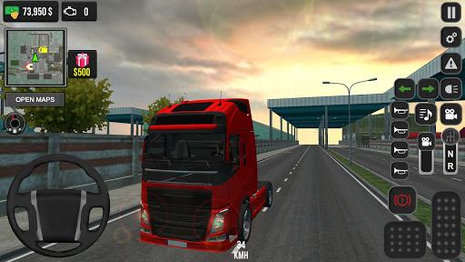 Real Truck Simulator  screenshots 1