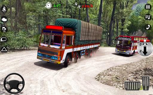 City Cargo Truck Driving 2021: Euro Truck Sim  screenshots 12