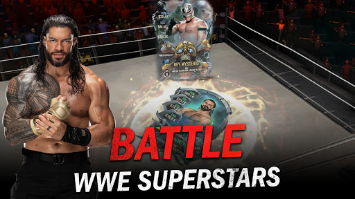 WWE SuperCard - Multiplayer Collector Card Game  screenshots 1