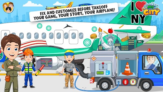 My City : Airport [Paid, MOD] For Android 5