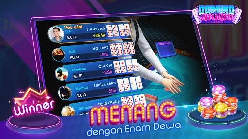 Domino Qiuqiu 3D ZingPlay - Poker QQ 99 Terbaik apkdebit screenshots 14