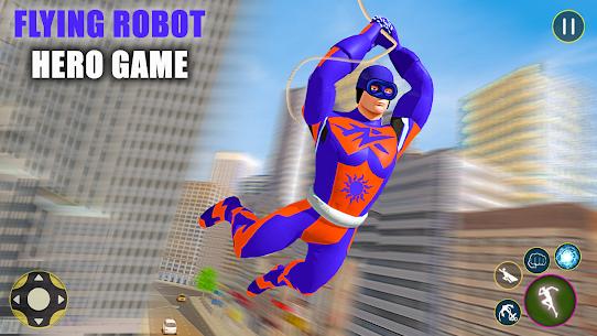 Superhero Captain Robot Games: Super Hero Man Game 6