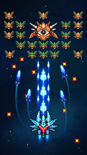 Galaxiga: Galaga Arcade Shooter 80s - Free Games 20.2 screenshots 5