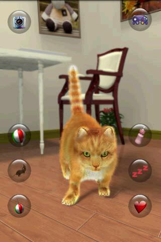 Talking Lovely Cat apklade screenshots 1