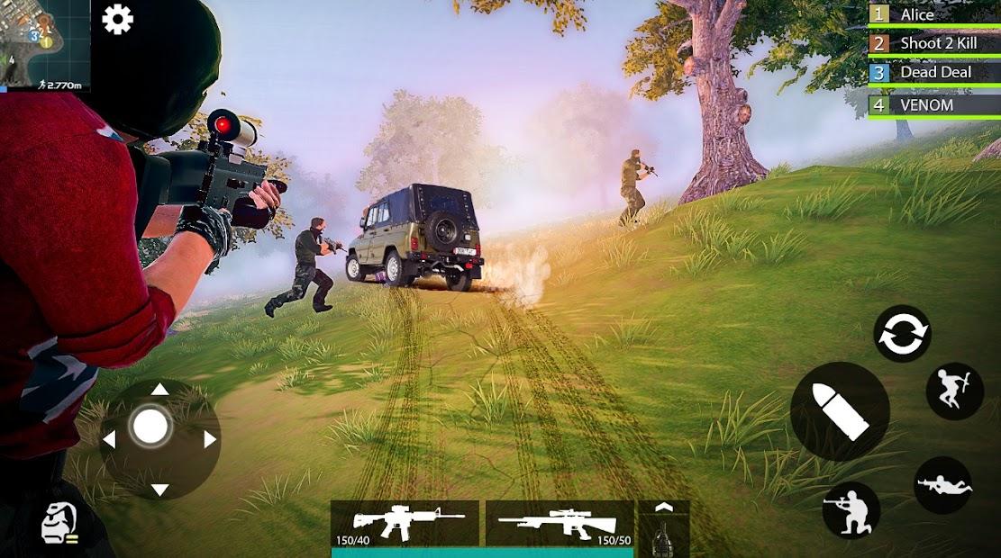Screenshot 2 de Battle Combat Strike (BCS) - juegos de disparos para android