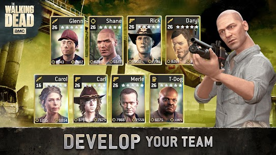 The Walking Dead No Man's Land Unlimited Gold Apk 2