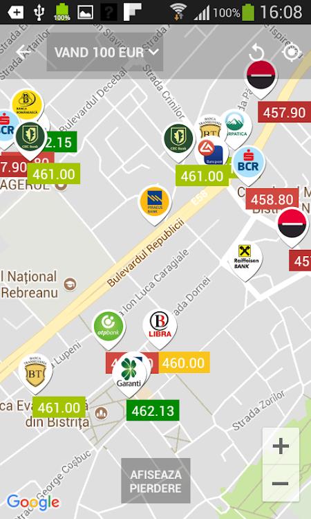 Curs Valutar Spot si Convertor Valutar - Banca Transilvania