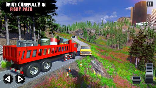 Offroad Cargo Truck Driver: 3D Truck Driving Games 4.7 Screenshots 11