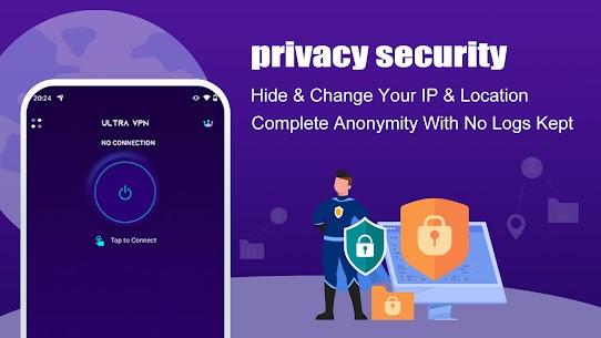 Ultra VPN Mod Apk 1.23.00.01 (VIP Unlocked) 9