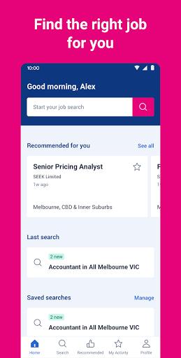 SEEK Job Search apktram screenshots 1
