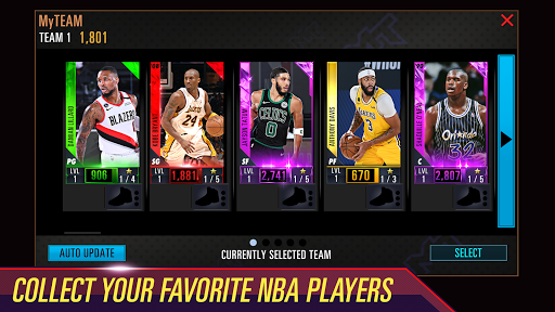 NBA 2K Mobile Basketball screenshots 3