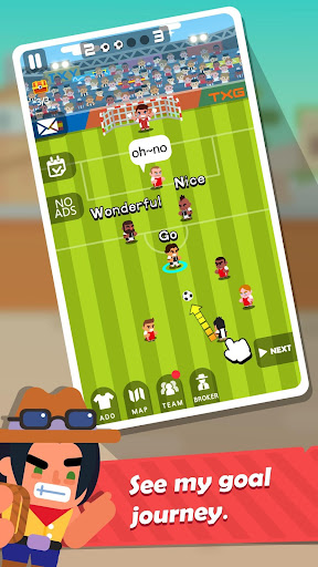 Télécharger Tour de but: manager de football mod apk screenshots 2