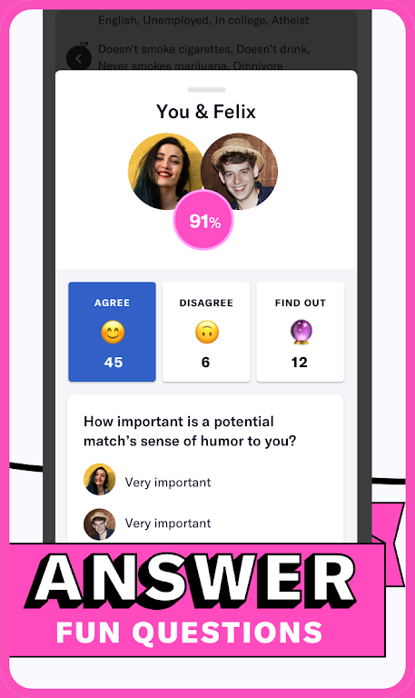 OkCupid - The Online Dating App for Great Dates  poster 2
