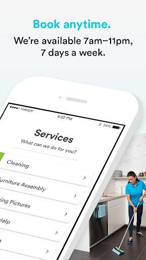 Handy - Book home services  screenshots 2
