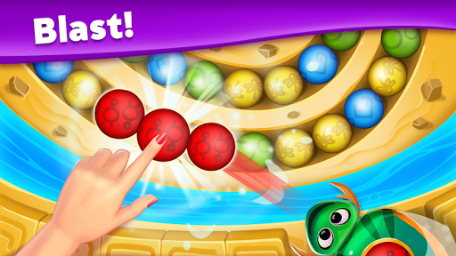 Violas Quest: Marble Blast Bubble Shooter Arcade 3.036.10 screenshots 1