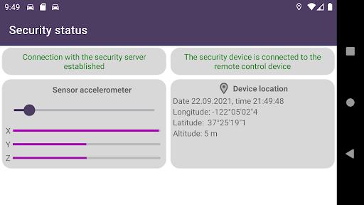 Remote car security screenshot 10