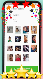 ud83dude0dAnimated baby stickers for WhatsAppud83dudc76ud83cudffb 1.0 screenshots 2