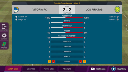 Pro League Soccer 1.0.3 screenshots 4