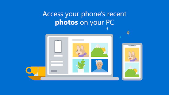 Your Phone Companion - Link to Windows Screenshot