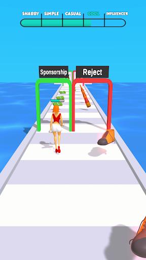Influencer Run apktreat screenshots 1