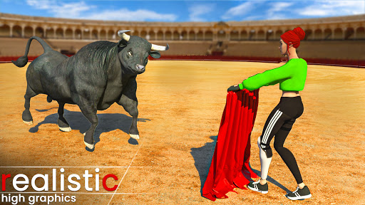 Angry Wild Bull Racing Game  screenshots 1