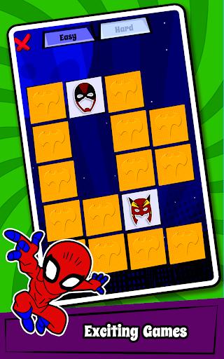 Superhero Coloring Book Game & Comics Drawing book  screenshots 23