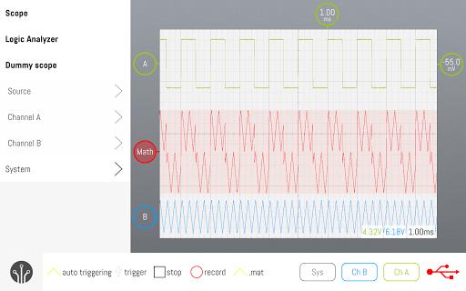 smartscope oscilloscope screenshot 3