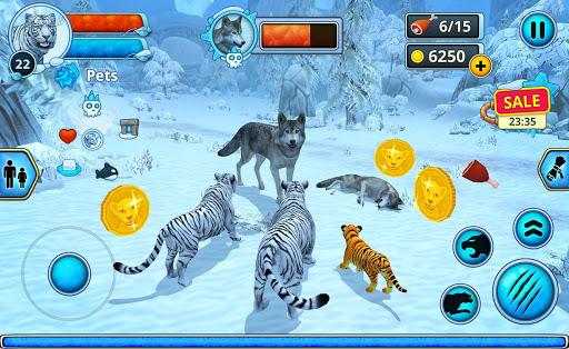 White Tiger Family Sim Online - Animal Simulator  Screenshots 7