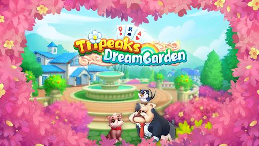 Tripeaks Dream Garden 2.8.0 screenshots 1