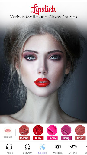 Face Makeup Camera - Beauty Makeover Photo Editor 1.0.0 Screenshots 10