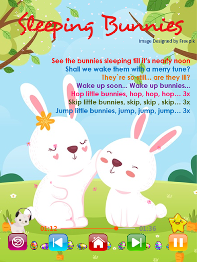 Kids Songs - Offline Nursery Rhymes & Baby Songs 1.8.2 screenshots 6