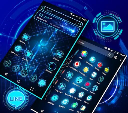 Technology Launcher Theme 4.0 Screenshots 6