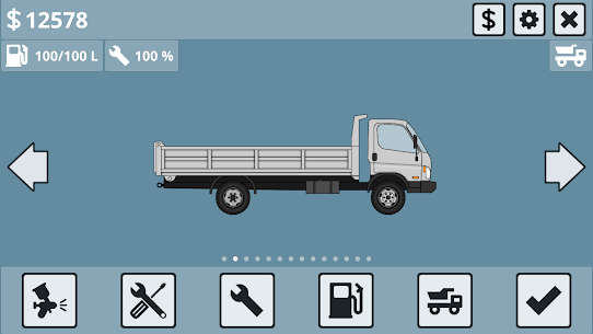 Mini Trucker MOD (Unlimited Money) 1