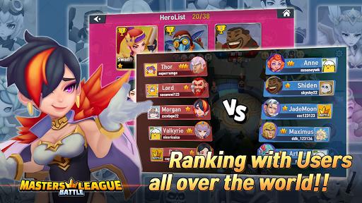 Masters Battle League 5v5 : Legend MOBA PvPTrainer 1.12 screenshots 1
