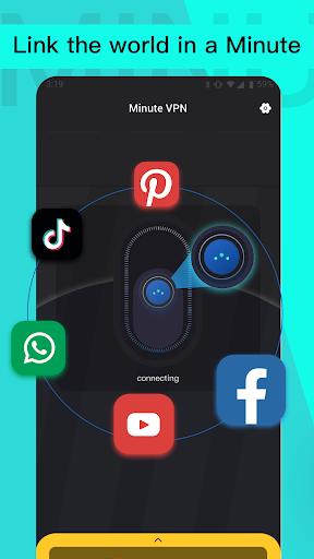 Minute VPN - Unlimited VPN, Security Free VPN apktram screenshots 1