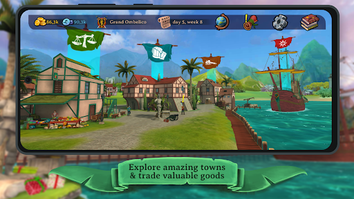 Elly and the Ruby Atlas – Pirate Games Free screenshots 2