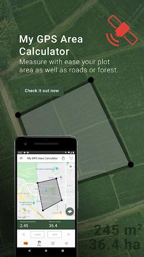 My GPS Area Calculator  screenshots 1
