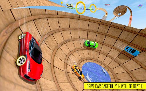 Well of Death Car Stunt Games: Mega Ramp Car Games 1.0 screenshots 2
