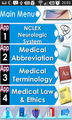 NCLEX Neurology & Nervous Syst For PC Windows (7, 8, 10, 10X) & Mac Computer Image Number- 5