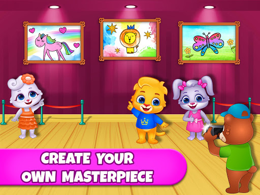 Coloring Games: Coloring Book, Painting, Glow Draw  screenshots 13