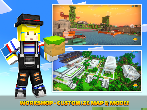 Cops N Robbers - 3D Pixel Craft Gun Shooting Games goodtube screenshots 22