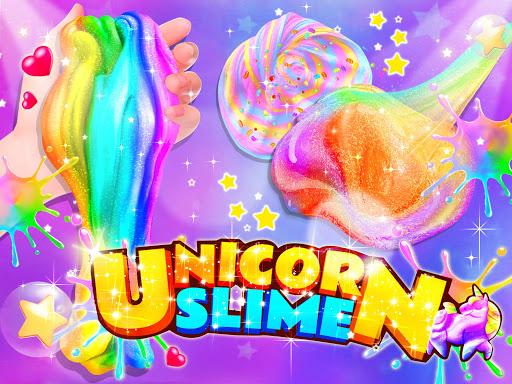 Unicorn Chef: Slime DIY Cooking Games for Girls  screenshots 1
