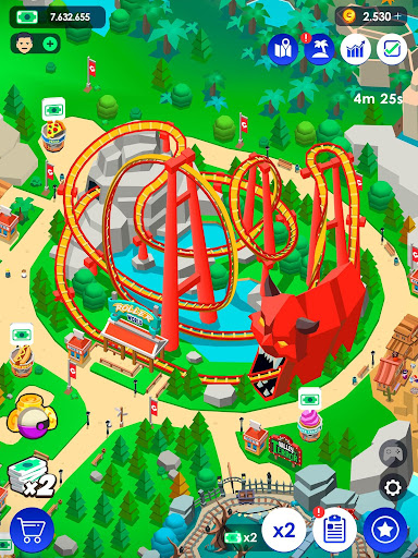 Idle Theme Park Tycoon - Recreation Game 2.4.2 Screenshots 12
