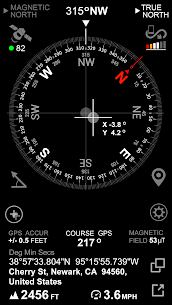 DIGITAL COMPASS GPS SMART TOOLS /U5/ (PREMIUM) 1.4 Apk 2