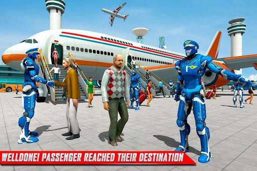 Robot Airplane Pilot Simulator - Airplane Games 1.6 screenshots 1
