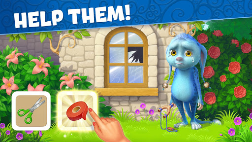 jingle mansion-match 3 adventure story games free screenshot 1