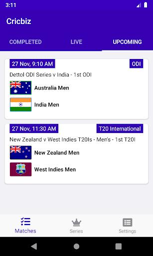 cricbiz - live cricket score & news screenshot 3