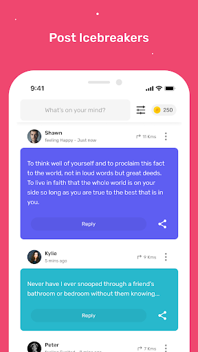 Profoundly: Chat, Audio & Rooms 6.4.6 Screenshots 1