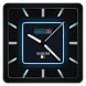 Blue Carbon Analog Watch Face - Androidアプリ