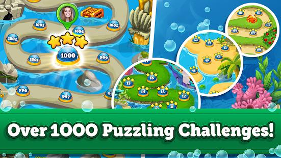 Jelly Fish Crush Mania: 2020 Match 3 Game Free New